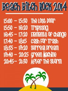 Timetable 2014
